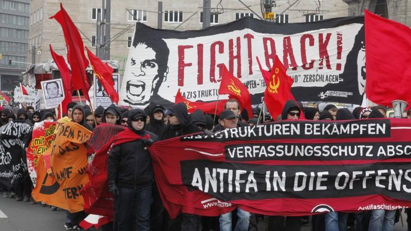 März 2012: Die Anti-Rechts-Demo in Nürnberg