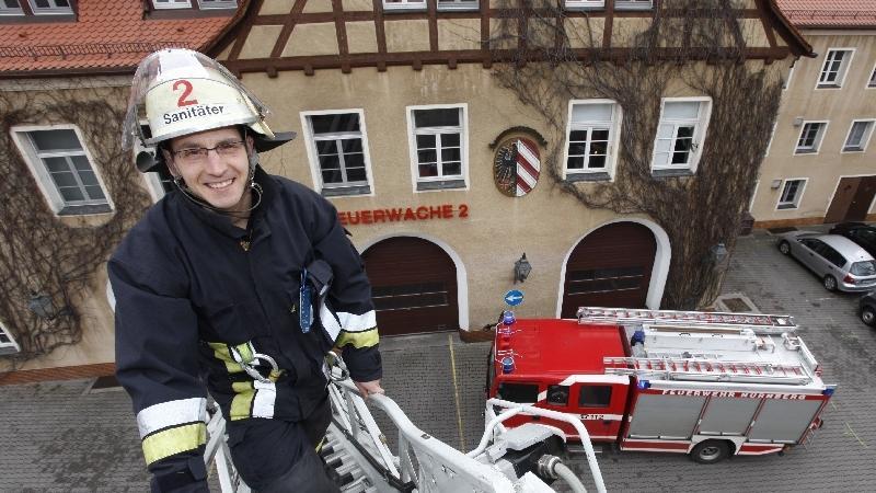 Kaum aus dem Trainingslager zurück, schon musste Michi Hofmann wieder 24 Stunden Dienst auf der Feuerwache schieben.