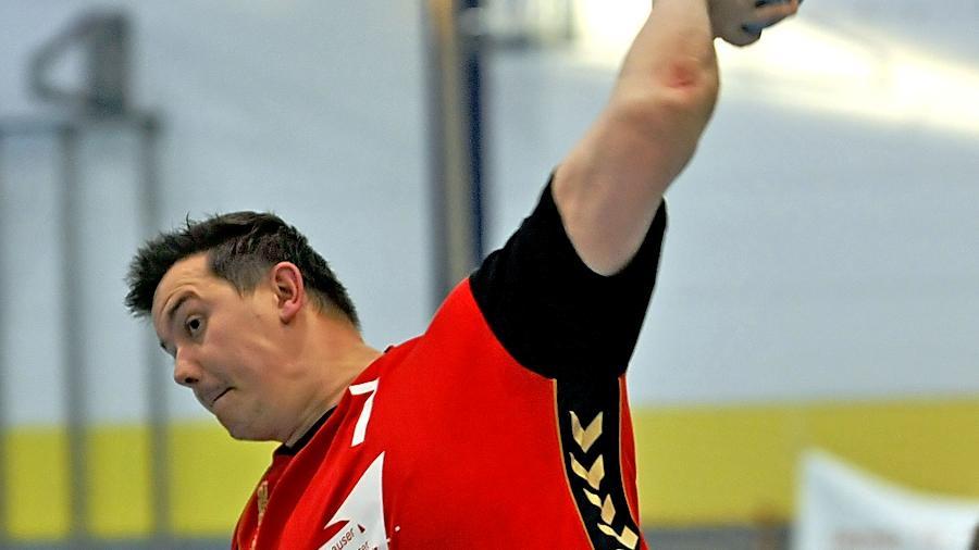 Auch die sieben Treffer von Frank Großhauser reichten Zirndorf nicht zum Sieg.