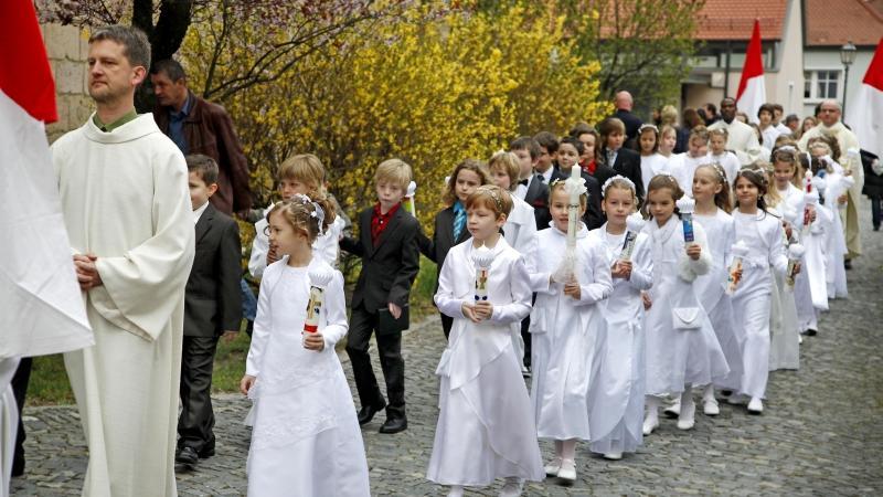 Hl. Erstkommunion in der Pfarrei St. Magdalena in Herzogenaurach
