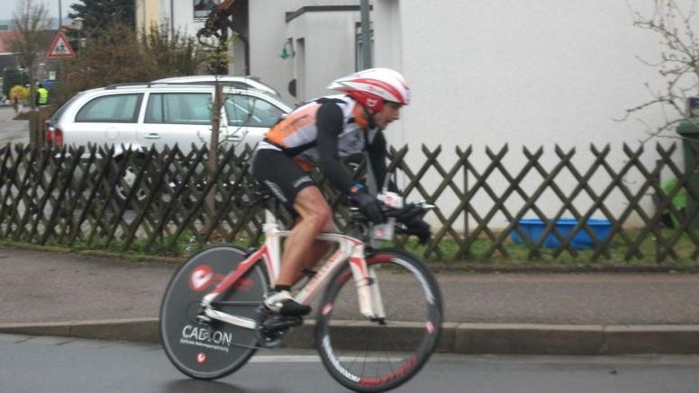 Harte Waden, aber Platz drei beim Duathlon in Ansbach