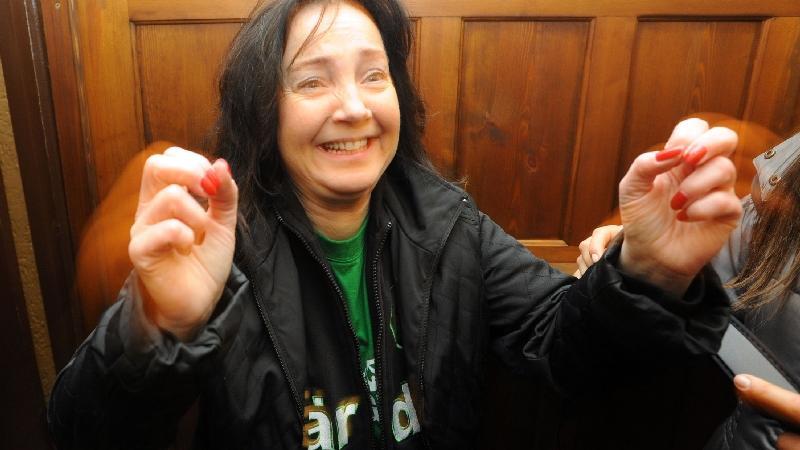 Auch Stadtsprecherin Susanne Kramer ist begeistert...