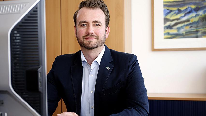 Ausbildungsleiter Marco Brüchner betreut und unterstützt die Medienkaufleute.