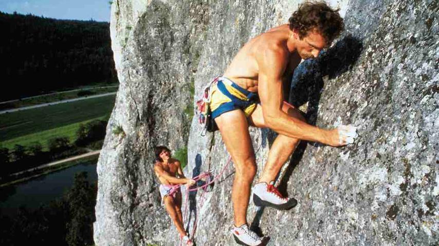 Kurt und sein Freund Wolfgang Güllich: Eine Seilschaft, die die Kletterwelt verändern sollte.