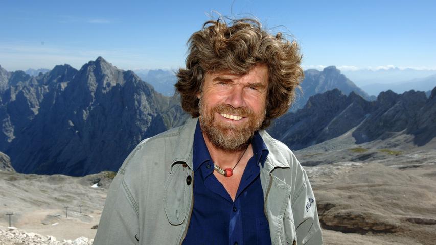 Reinhold Messner würdigt Alberts Leistungen