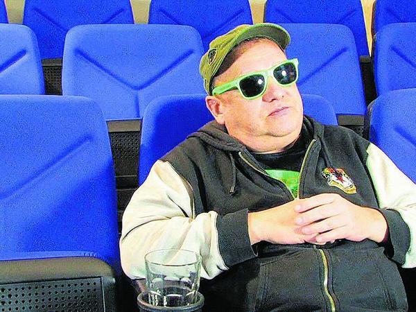 """Der Chef als Filmstar: Mike Neun in """"Der Glibb""""."""