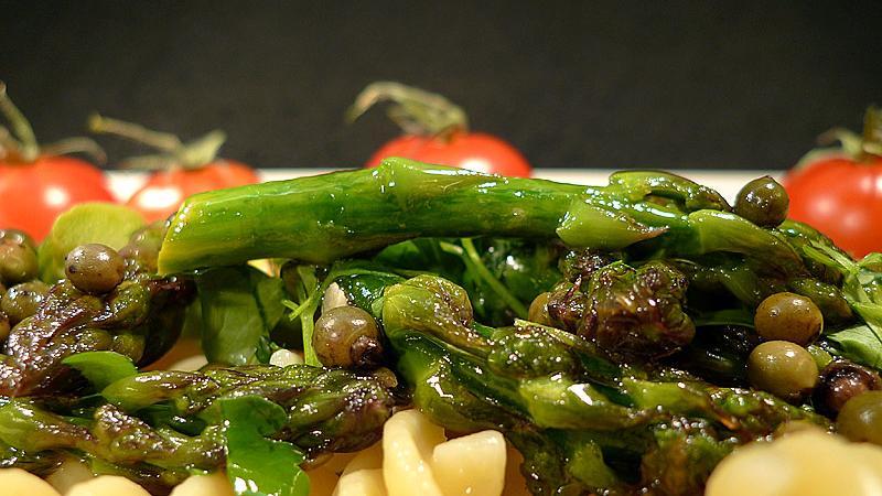 ...oder wie hier auf Pasta. Für jeden Gourmet findet sich ein passendes Gericht mit dem