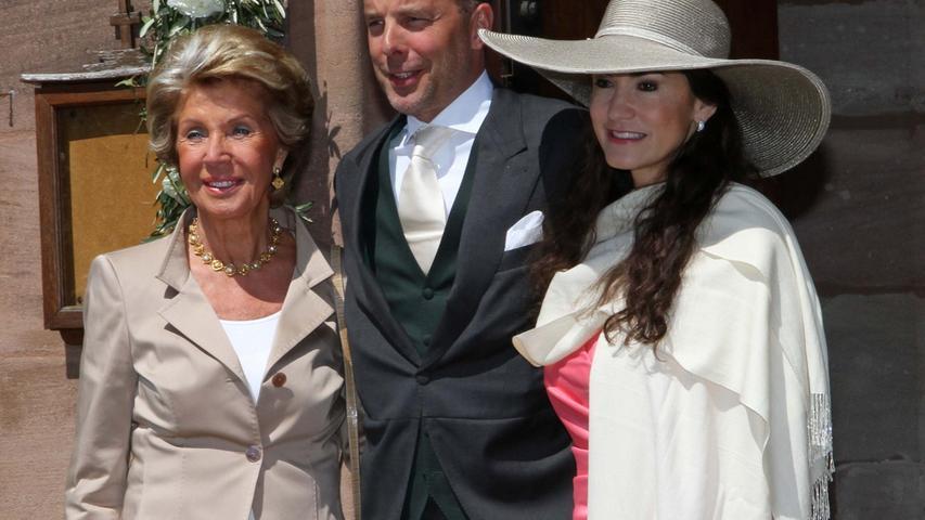 Schauspielerin Mariella Ahrens (rechts) und ihr Mann Patrick Graf von Faber-Castell.
