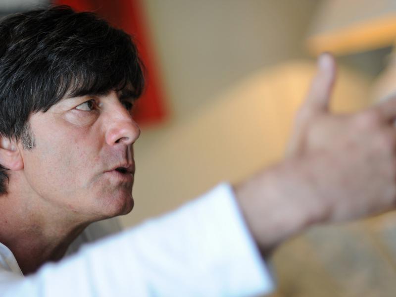 Bundestrainer Joachim Löw: «Wir haben das Tor zum Viertelfinale aufgestoßen.»