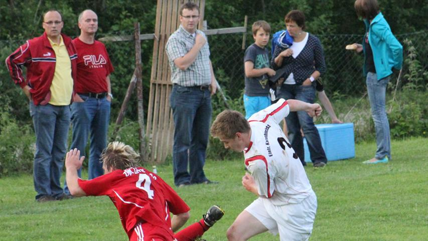 2:1-Sieg der Kattenhochstatter Reserve gegen Limes II im A-Süd-Entscheidungsspiel.