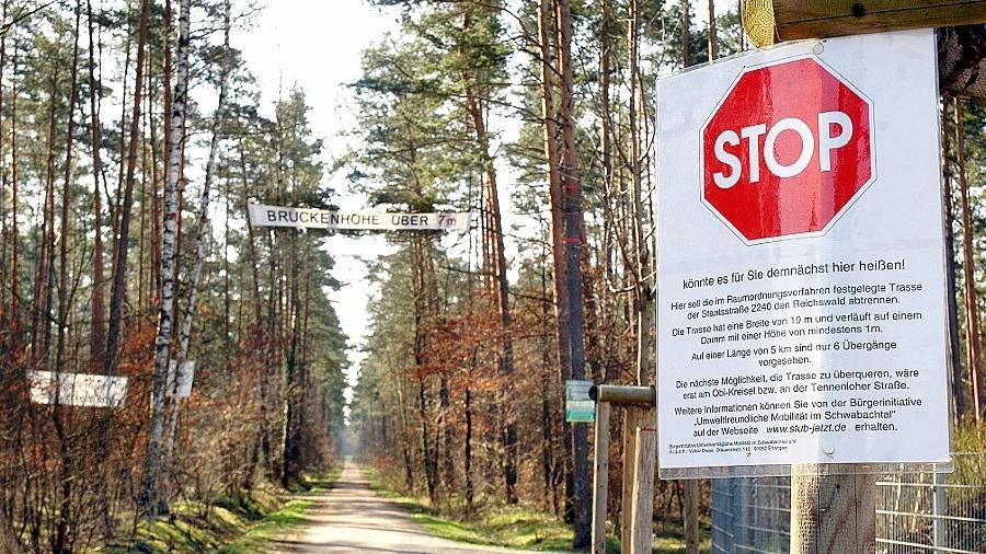 Die verschärften Bestimmungen des europäischen Vogelschutzes haben die Pläne einer Südumgehung zunichte gemacht.