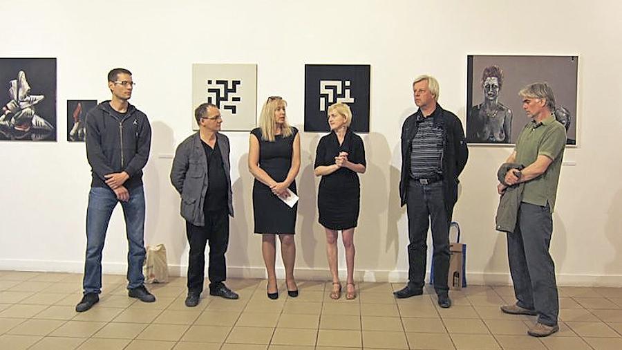 Ausstellungseröffnung in Polen: Kulturaustausch ist dem Künstlerbund wichtig.