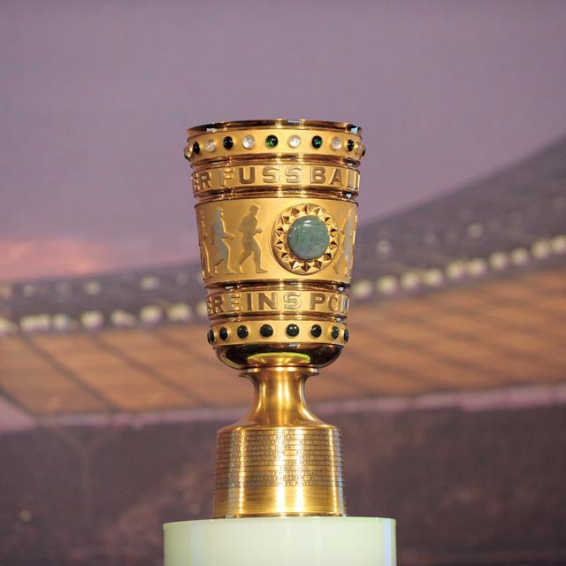 Objekt der Begierde: der DFB-Pokal.