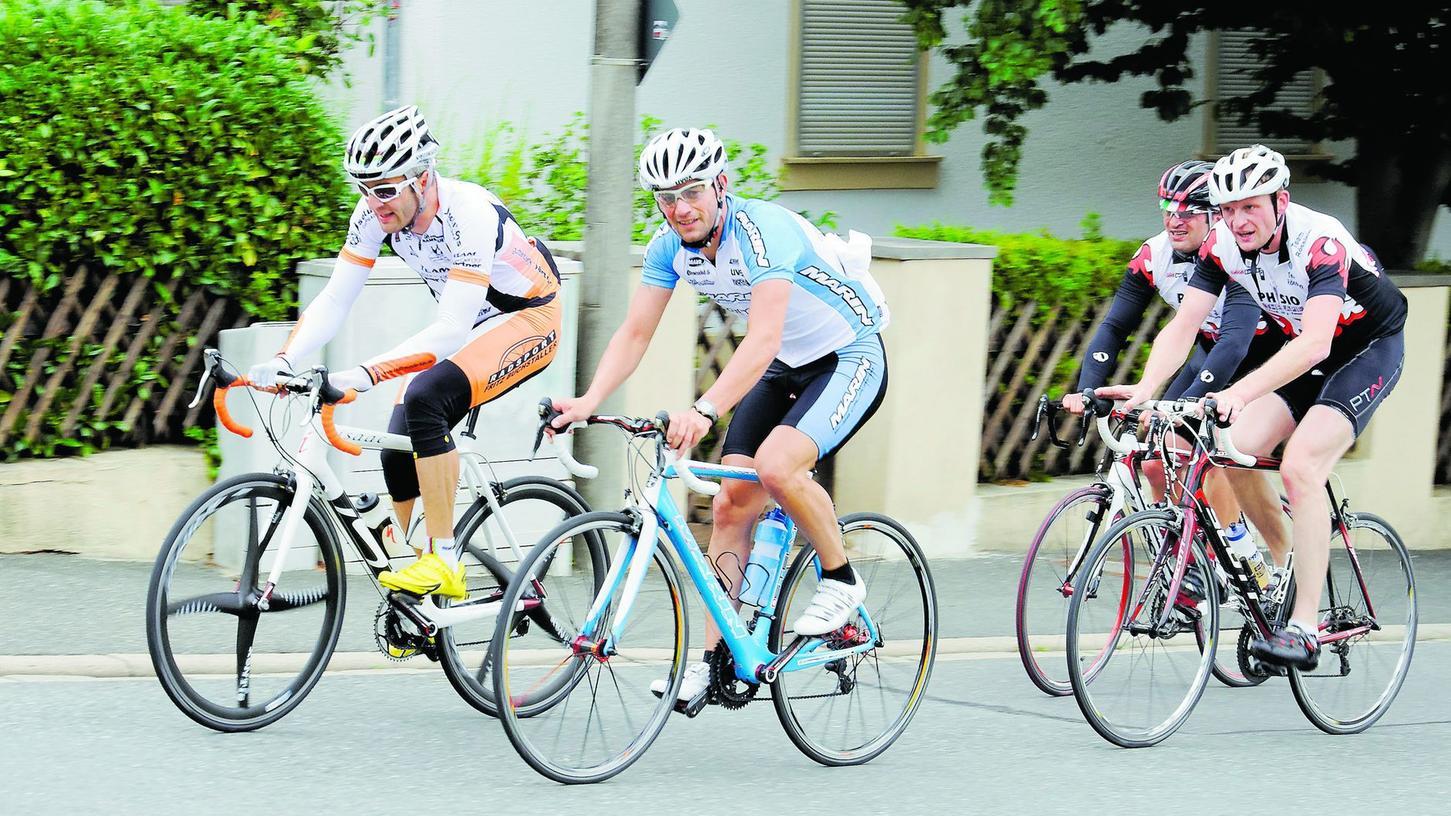Spaß bei den Radtouren: Hobbyradler sind ebenso wie ambitionierte Radler willkommen.