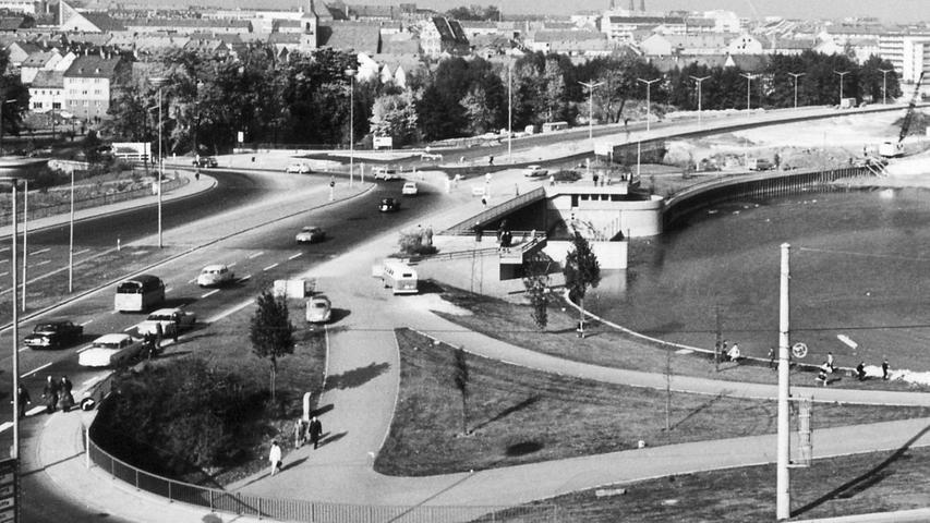 1969 wurde der Wöhrder See geflutet.
