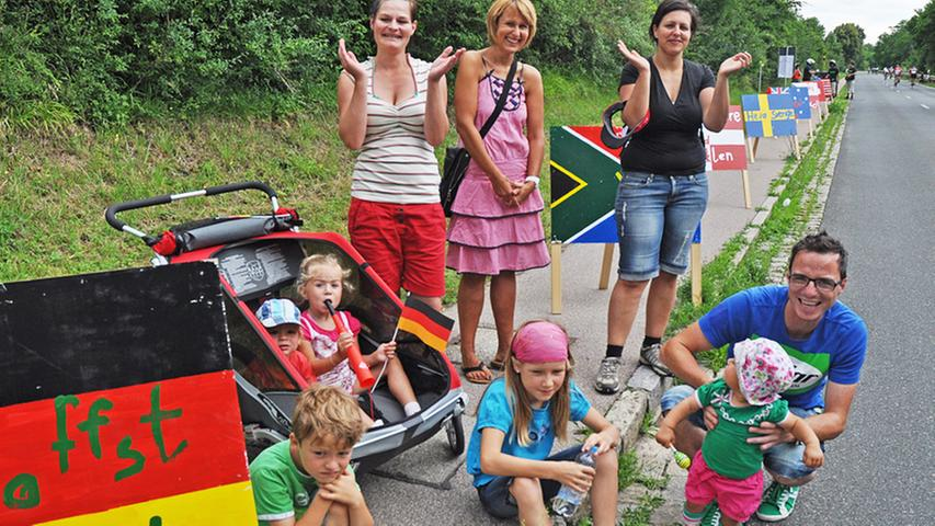 Challenge Roth 2012 - Super Stimmung an der Strecke