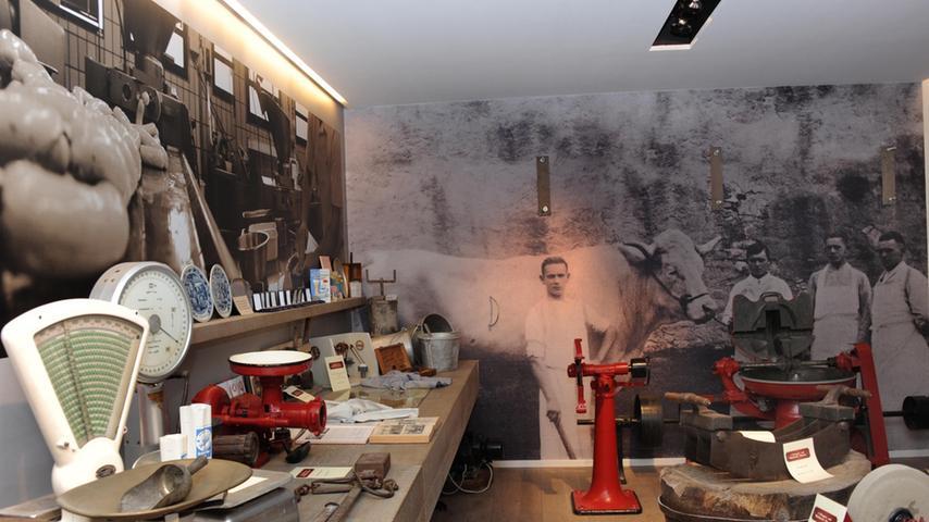 Doppelter Grund zum Feiern: Norbert Wittmann weihte sein 1. Bayerisches Metzgerei- und Weißwurstmuseum ein, zugleich beging sein Unternehmen das 50-jährige Bestehen.