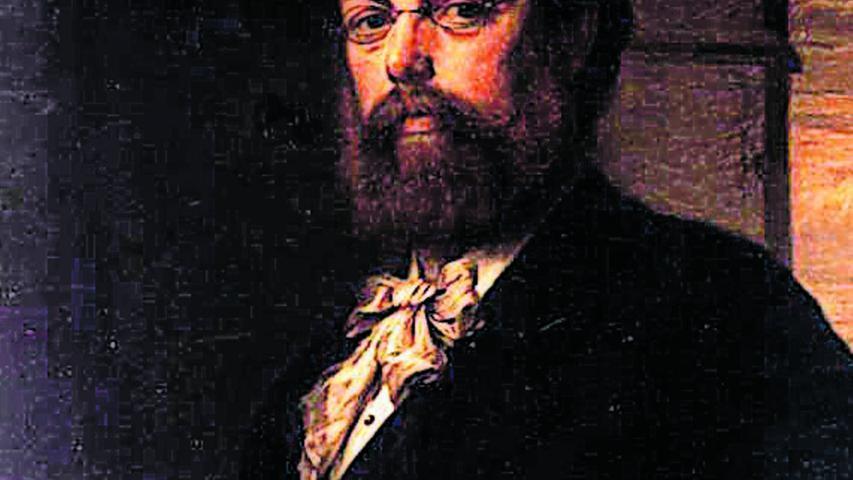 Dieses Bild des Künstlers Friedrich Wilhelm Wanderer hat 1880 Carl Fleischmann gemalt. Es ist Teil der Gemälde- und Skulpturensammlung der Museen der Stadt Nürnberg.