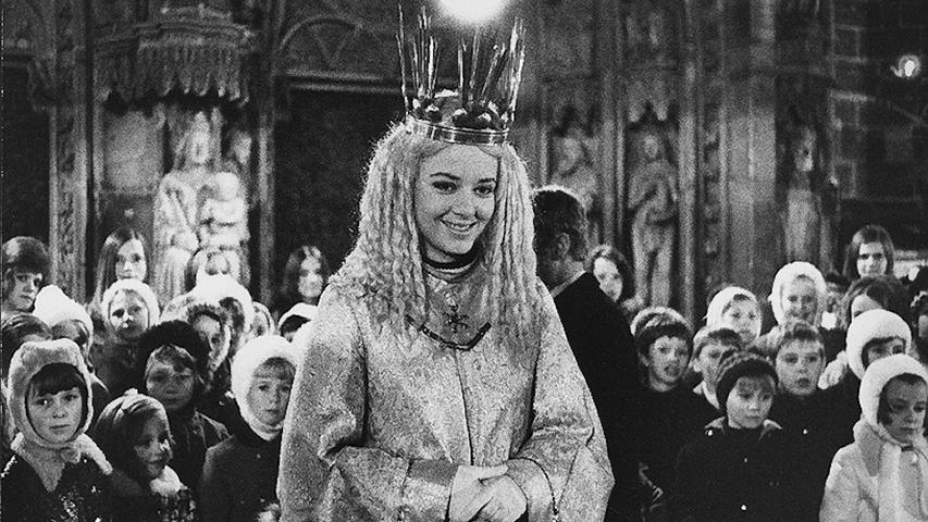 Gabriele Bergmann (verheiratete Jungk) wardas erstegewählte Christkind in den Jahren 1969 und 1970.