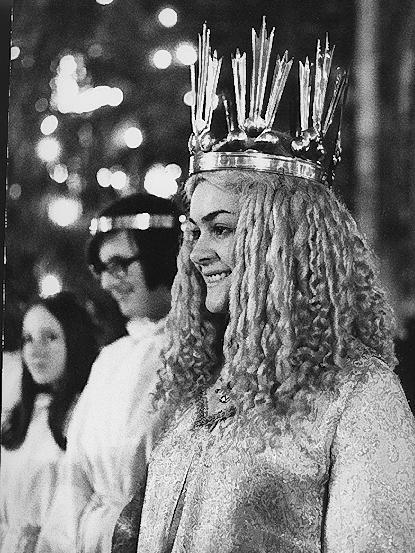 Gudrun Bauer war das 2. gewählte Christkind in den Jahren 1971 und 1972.