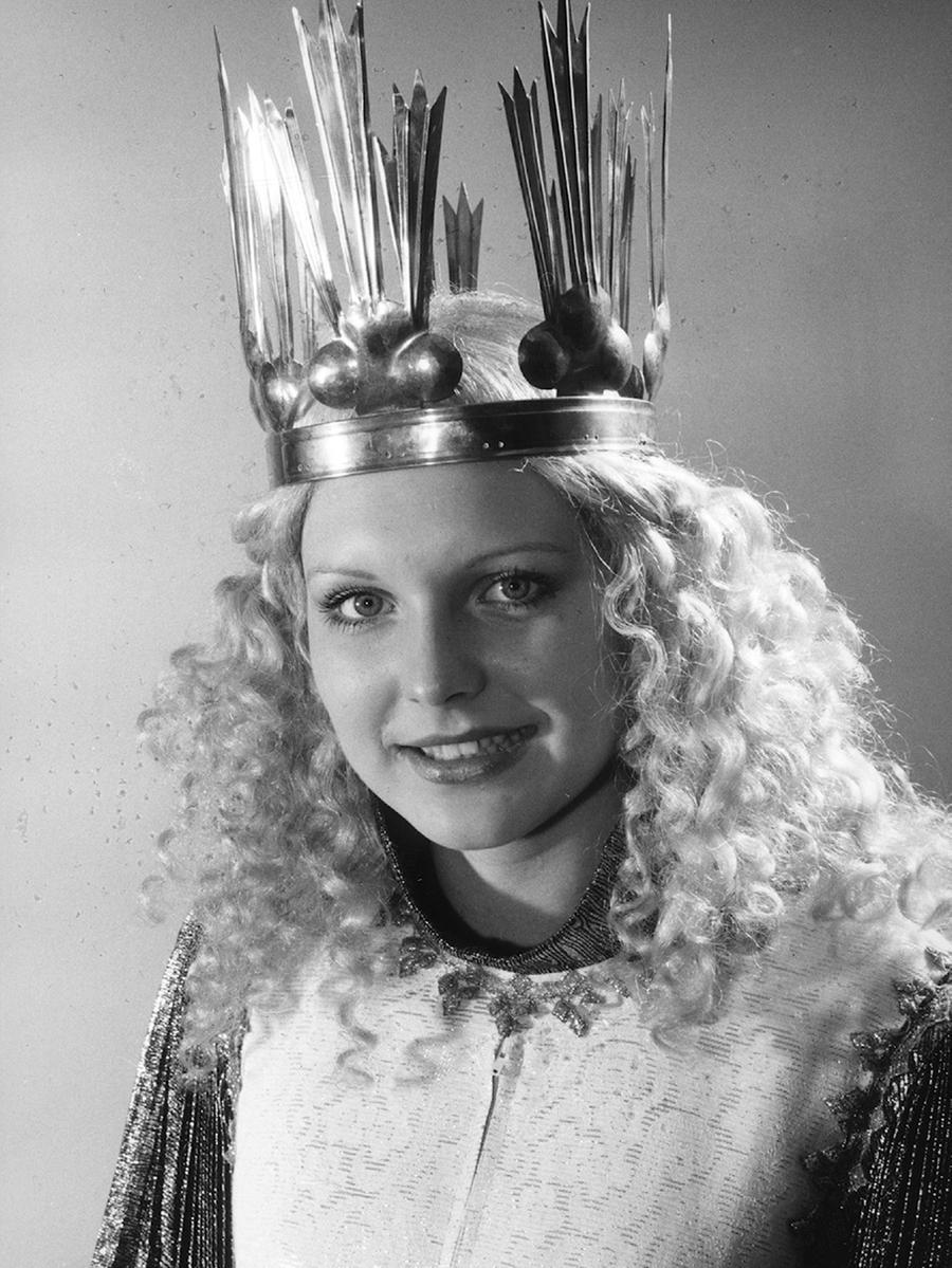 Michaela Kraus (verheiratete Dr. Tröger) war das 4. gewählte Christkind in den Jahren 1975 und 1976.