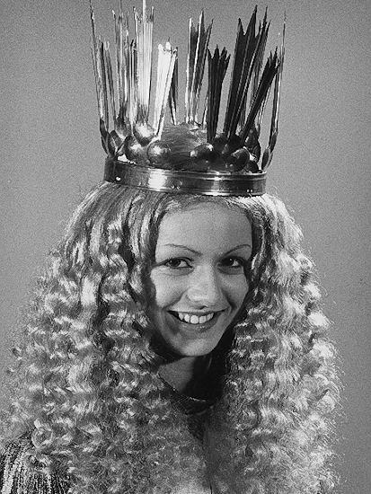 Birgit Schirlitz (verheiratete Hueber) war das 5. gewählte Christkind in den Jahren 1977 und 1978.
