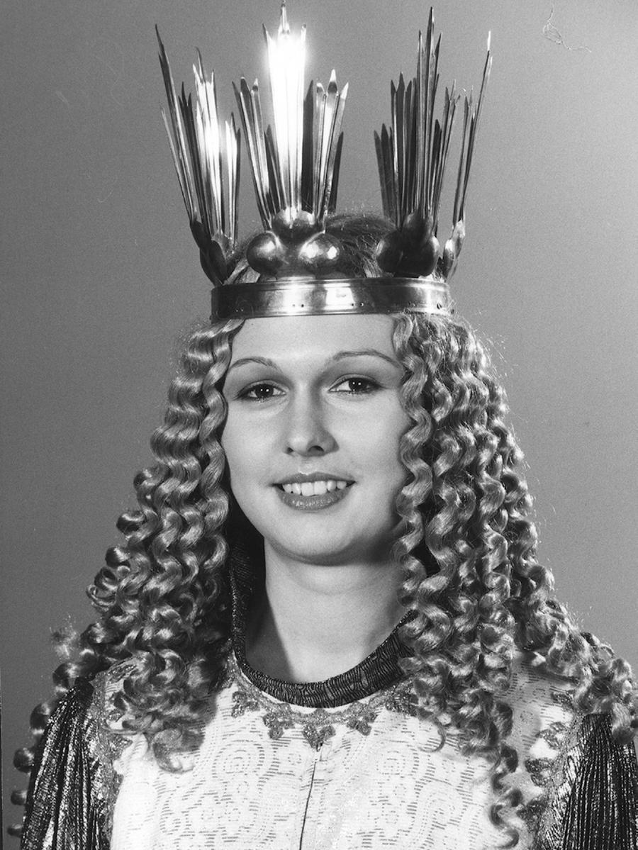 Heike Steinbauer (verheiratete Vlad) war das 7. gewählte Christkind in den Jahren 1981 und 1982.
