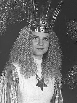 Sandra Schöttner war das 14. gewählte Christkind in den Jahren 1995 und 1996.