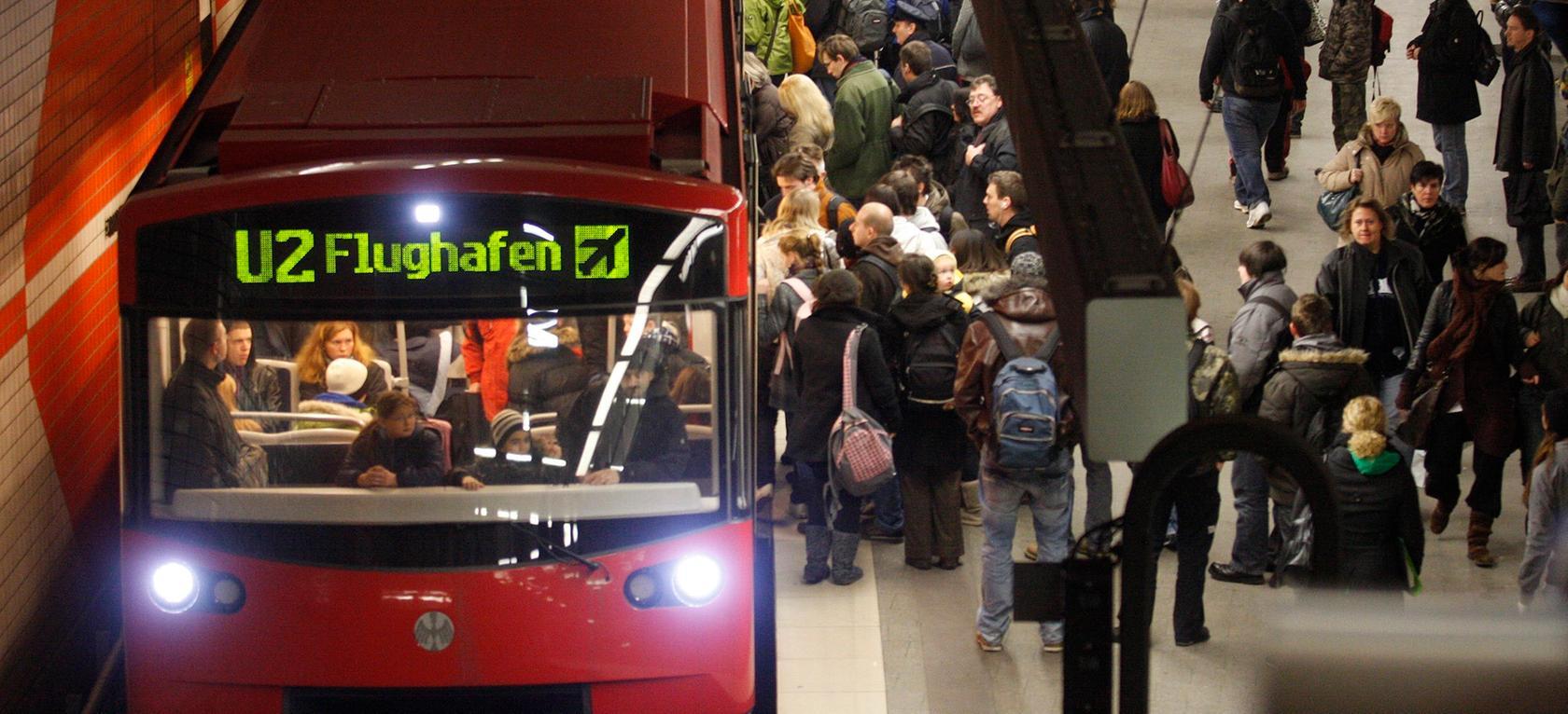 Mit Mobilfunkdaten will die VAG künftig Fahrgastzählungen überflüssig machen.