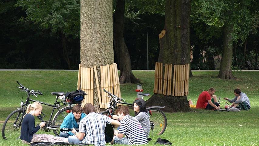 10 Orte: Wo man in Nürnberg den Sommer genießen kann