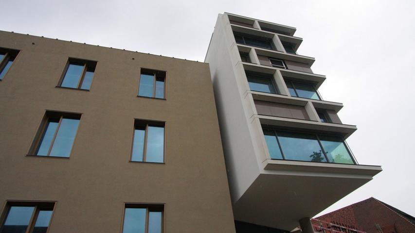 Große Fenster sollen für lichtdurchflutete Räumlichkeiten sorgen.