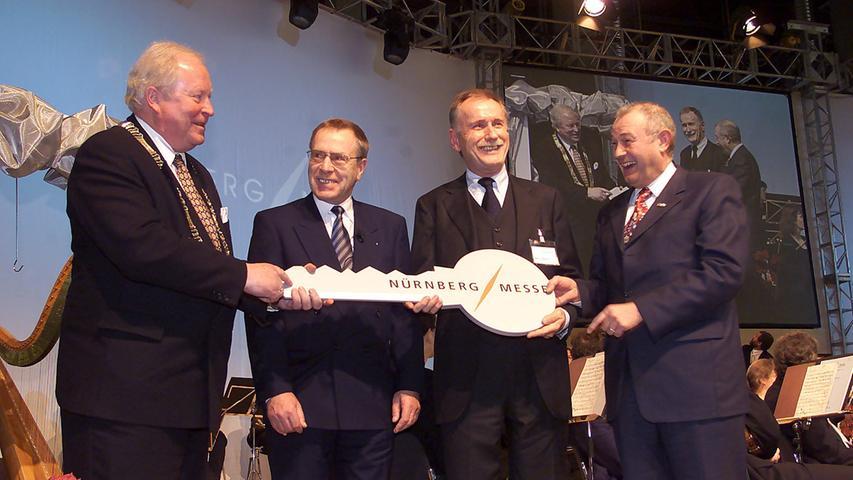 10. Januar 2001: Neujahresempfang der Stadt Nürnberg in der neuen Messehalle