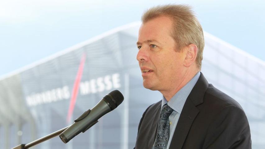 Nürnbergs damaliger Oberbürgermeister Dr. Ulrich Maly (SPD) bei seiner Rede.