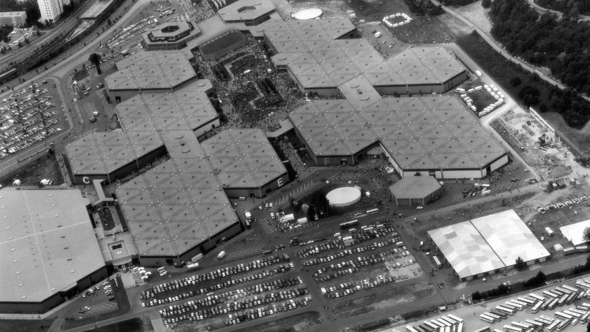 16. Juni 1979: Das Messezentrum Nürnberg erstrahlte in vollem Glanz.