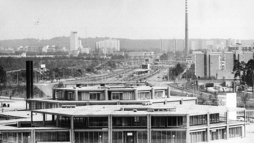 Für die damalige Zeit war der Bau sehr futuristisch.
