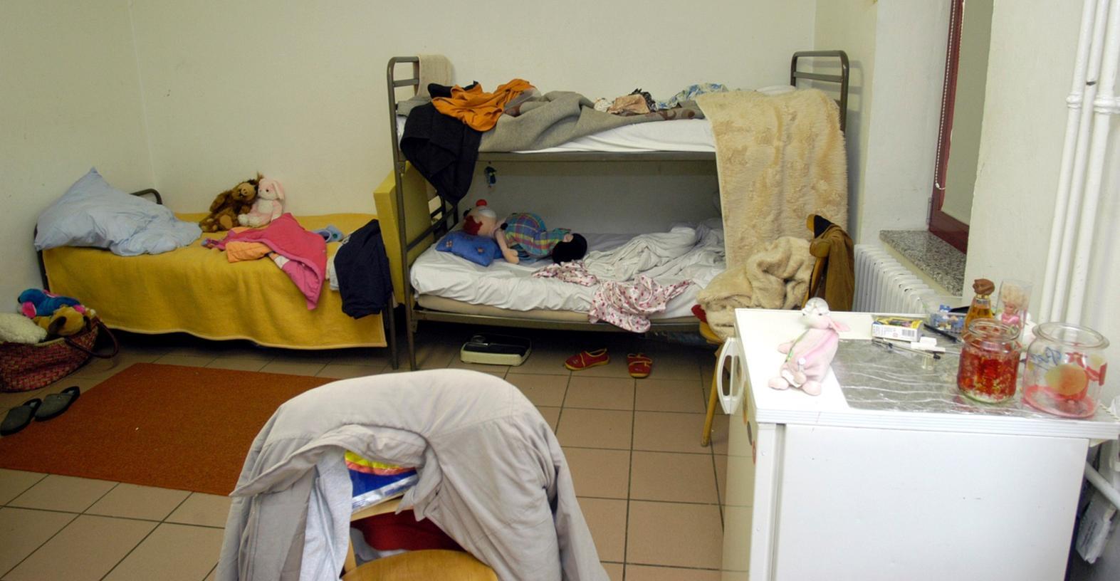 Würzburg soll wieder neue Asylbewerber aufnehmen, hier ein Bild aus der Unterkunft für Asylbewerber in Zirndorf.