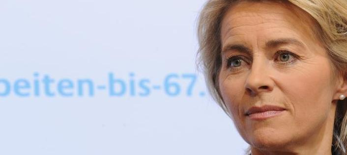 Bundesarbeitsministerin Ursula von der Leyen hat ein Gesetzespaket gegen Altersarmut geschnürt.