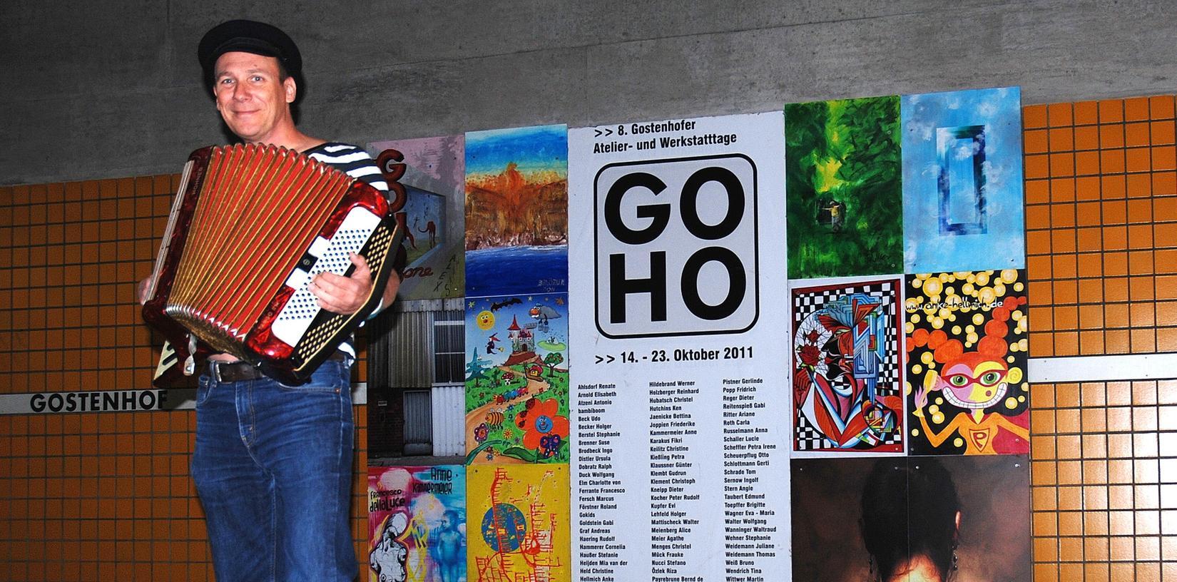 Andy Conrad spielte bei Bomb Texas und The Legendary Showdowns. Aktuell ist er mit The GoHoHobos zu Gange.