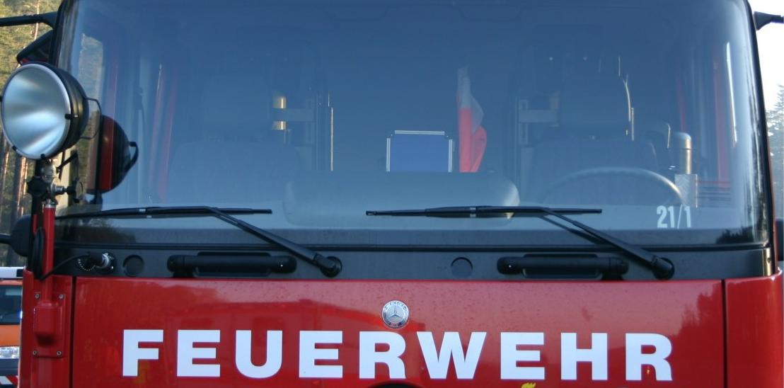 Die Feuerwehr hatte das Feuer rasch unter Kontrolle.