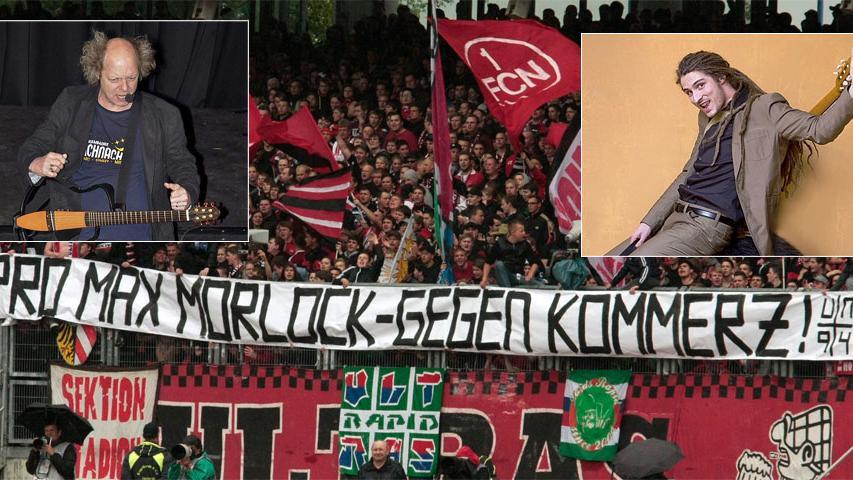 Bei der Suche nach einer neuen Torhymne für den 1. FC Nürnberg konnten sich die fränkischen Liedermacher Atze Bauer und El Mago Masin gegen zahlreiche Konkurrenten durchsetzen und stehen im Finale.