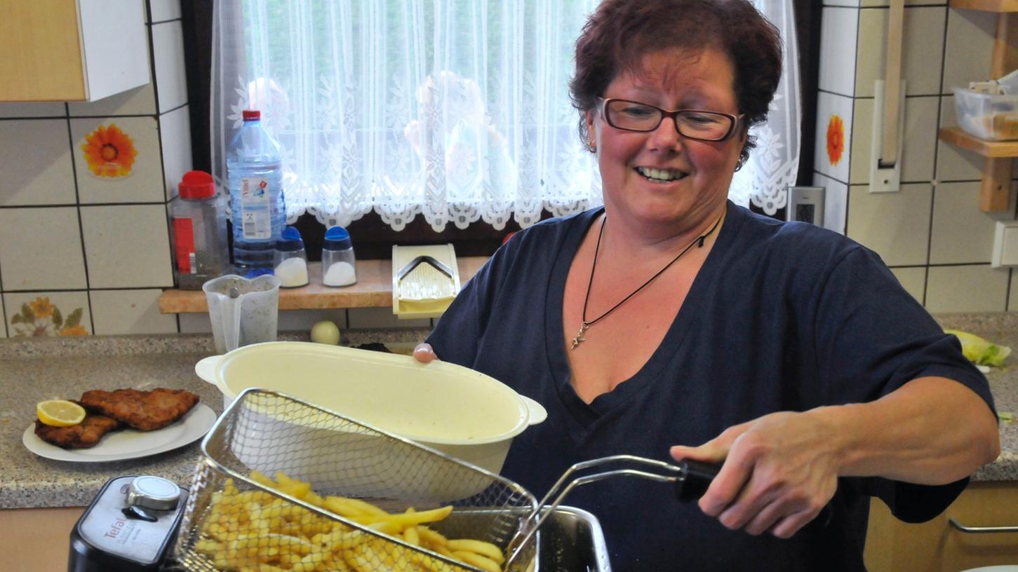 Bianca Maderer kocht nur, was sie auch selbst isst in der Gaststätte