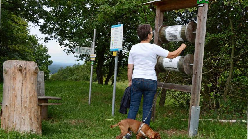 Eine beschauliche Wanderung auf dem Poesie- und Goldhut-Wanderweg.