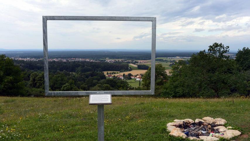 Machen Sie sich ein Bild: Die Landschaft, die Sie hier sehen, fasst kein Rahmen.
