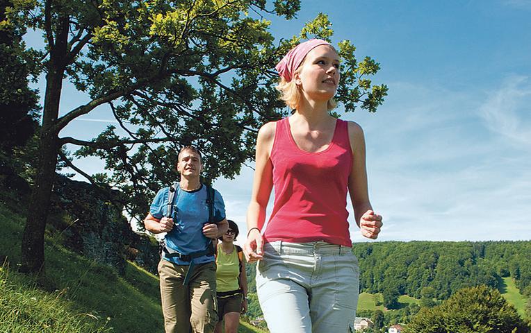 Der Wanderweg durch den Naturpark Altmühltal wurde 2012 zu Deutschlands schönstem Wanderweg gekührt. Auf 200 Kilometern bietet sich den Ausflüglern schönste Natur. Mehr Infos zu dem preisgekrönten Wanderweg finden Sie in diesem Artikel.