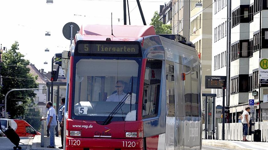 Fürth: Mit der Straßenbahn zum Stadion