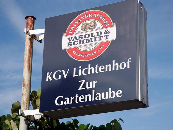 Aushängeschild für schmackhaftes Essen: Die Gartenlaube in der Hermundurenstraße gilt als Geheimtipp.