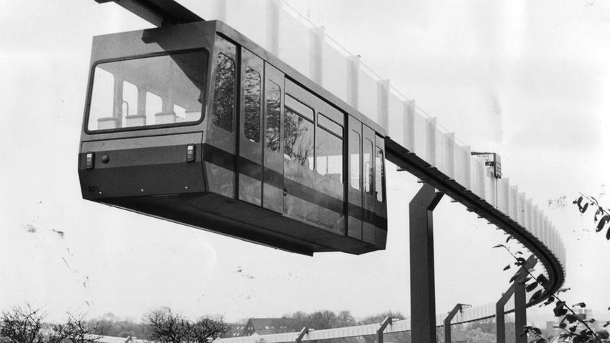 Viel hätte Erlangen für die H-Bahn in der Stadt damals nicht zahlen müssen, Bund, Freistaat und Siemens hätten einen Großteil der Kosten übernommen. Nach der Absage durch den Stadtrat wurde die H-Bahn schließlich in Dortmund umgesetzt, wo sie Nord- und Südcampus der Universität verbindet.