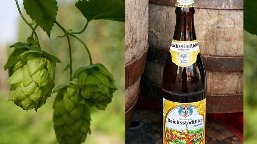 Seit über 140 Jahren braut die Familie Döbler Bier in Bad Windsheim und lässt sich von Modeerscheinungen und Trends nicht aus der Ruhe bringen. Zwar hat der jüngste Sproß Wilhelm IV das traditionelle Pils in blaue Flaschen gepackt, doch in der Brauerei geht es schon immer mehr um den Inhalt, als um die Verpackung. So auch beim Windsheimer Reichsstadtbier - naturtrüb:  Frisch vom Fass in der kultigen Brauereiwirtschaft am Kornmarkt ist es unschlagbar. Das
