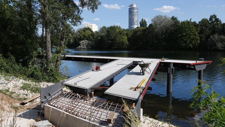 Wasserwelt Wöhrder See: Der Boulevardsteg ist fertig
