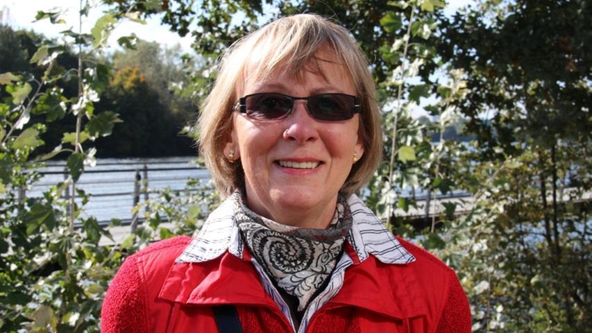 Ingrid Rehkopf geht häufig am Wöhrder See spazieren und findet den Boulevard sehr gelungen.